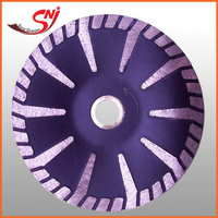 T-shape Turbo Hot Pressed Diamond Saw Blade