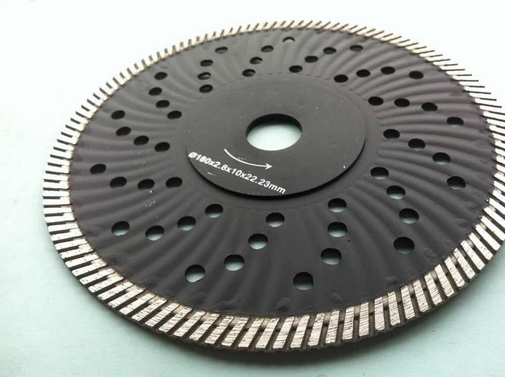 230mm Turbo Continuous Hot Pressed Circular Saw Blade